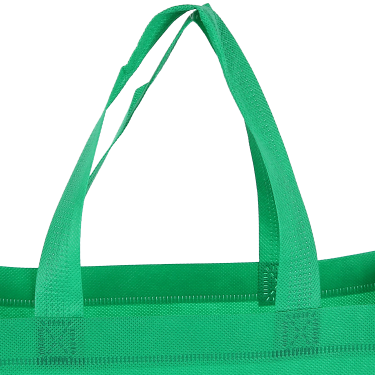 Green Non Woven Shopping Bags