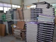 china cheap pvc vinyl wallpaper/ non-woven wallpaper/ paper wallpaper sample books
