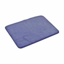 Memory foam fluffy microfiber anti slip mats