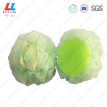 Lightly mesh sponge ball with brush