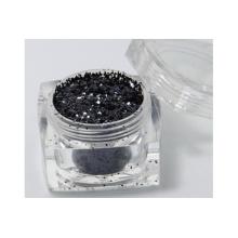 Gris cosmético Brillo Negro