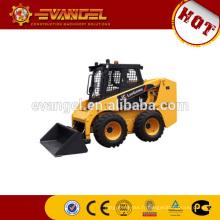 Mini chargeur à direction à glissement Liugong CLG385A avec godet de 0,5 m3