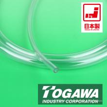 Mangueira de tubo de PVC de vinil flexível e transparente. Fabricado pela Togawa Industry. Feito no Japão (tubos japoneses)