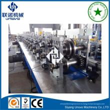 máquina de perfilado de bastidores de almacenamiento de acero galvanizado