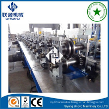 galvanized steel warehouse storage rack roll forming machine
