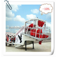 YHZS25 Mobile Concrete Batching Plant For Sale