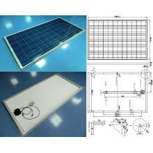 Módulo fotovoltaico cristalino 18V 36V 195W 200W 205W 210W del panel solar de la luz del sol con TUV aprobado