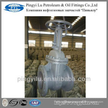 Cast steel gost standard flanged gate valve oil and gas industry