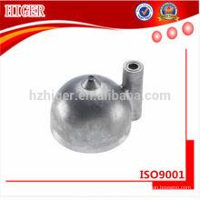 custom made die casting aluminum gas bbq burner parts