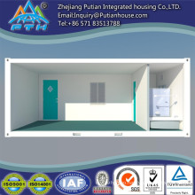 Container house with bath room