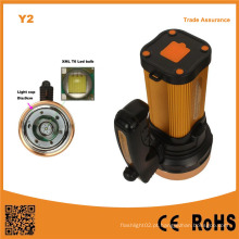 Y2 USB carregamento mão Held COB LED Caça Camping Lanterna