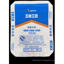 Gewebter PP-Zementbeutel aus laminiertem Ventil