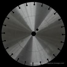 Disco de acero de hoja de sierra de diamante con anillo de tensión