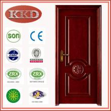 Lujo madera puerta MD - 506L para uso de interiores dormitorio