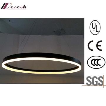 Guzhen Luminaires LED en acrylique métal LED rond suspension
