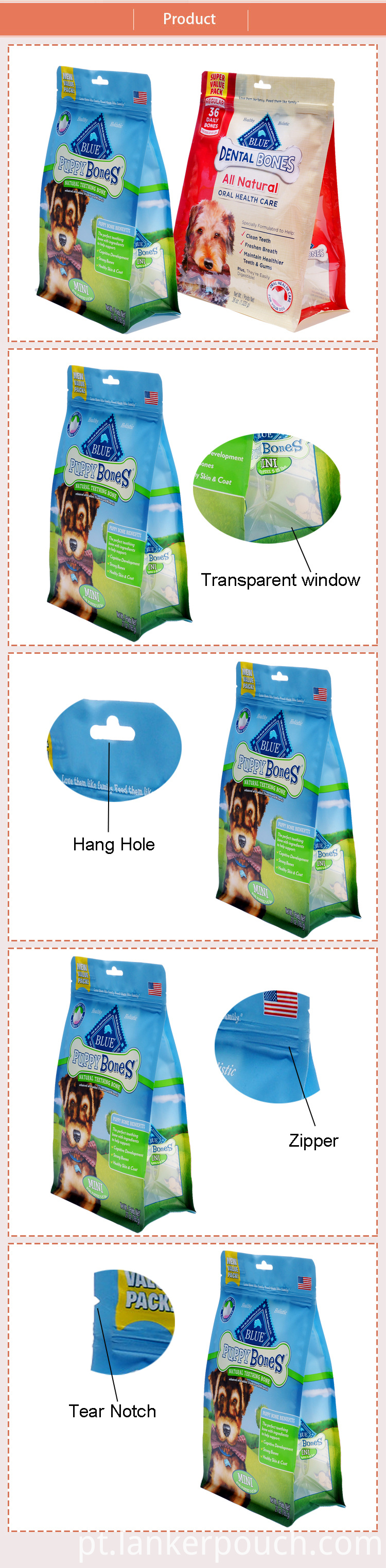 dog food pouches