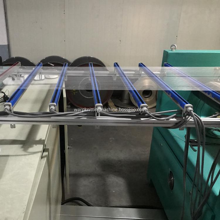 Spandex Warping Machine