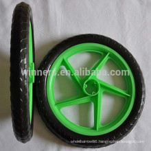 "16"" EVA solid plastic wheel for bicycle trailer"
