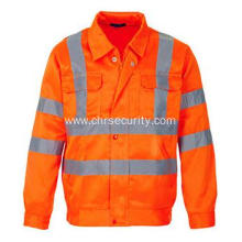 100% cotton reflective work clothes