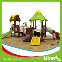 LIBENPLAY Kinder Hochwertige Outdoor Gymnastik Spielplatz im Haus Dach