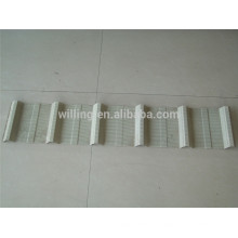 Stainless Steel Metal Perforated Plate Muffler For Roof Wall
