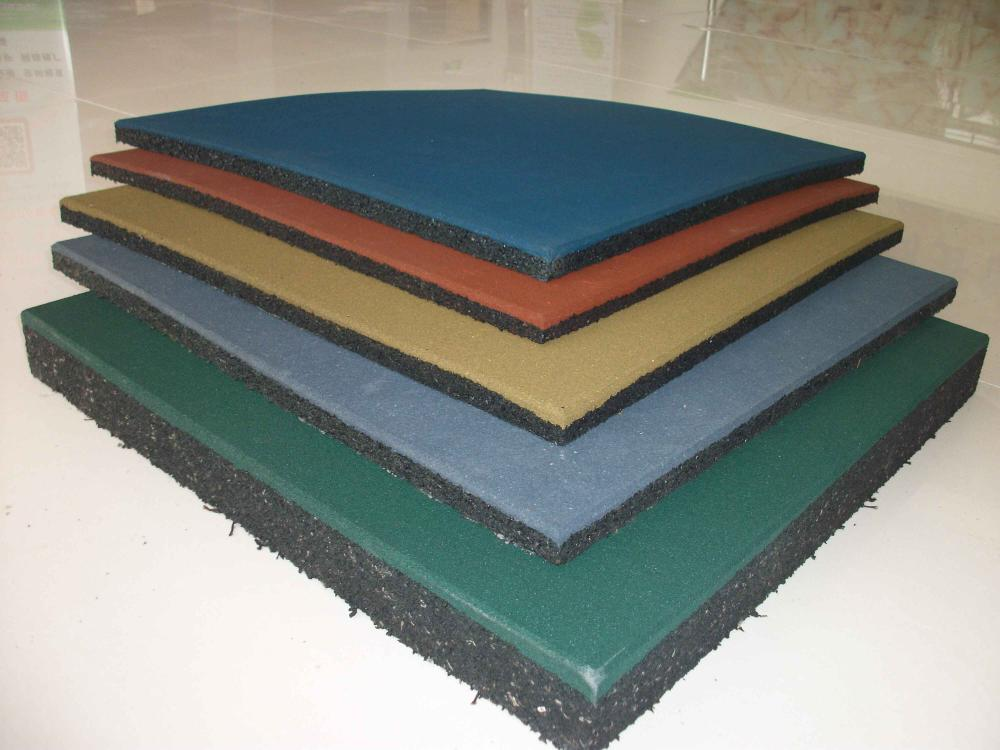 Outdoor Waterproof Rubber Flooring