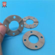 industrielle AIN Aluminiumoxid Keramik Kühlkörper Ringplatte