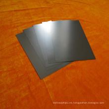 Hoja de molibdeno / hoja de molibdeno mínima de pureza 99,95% utilizada en horno de vacío