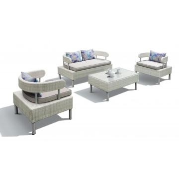 PE Wicker patio furniture pool outdoor sofa
