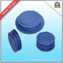 Tampa plástica redonda da inserção da extremidade para o tubo de aço (YZF-H99)