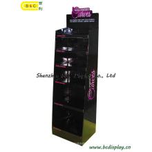 Продукты секса Дисплей Шипучки, Дисплей гофрированной бумаги с крюками, стойка дисплея, дисплея картона (B и C-A074)