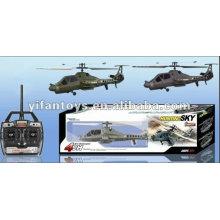FX060 El más nuevo RC 2.4G helicóptero medio 4Ch con girocompás