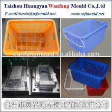 OEM custom plastic crate mould/high quality injection mold/plastic crate mould supplier