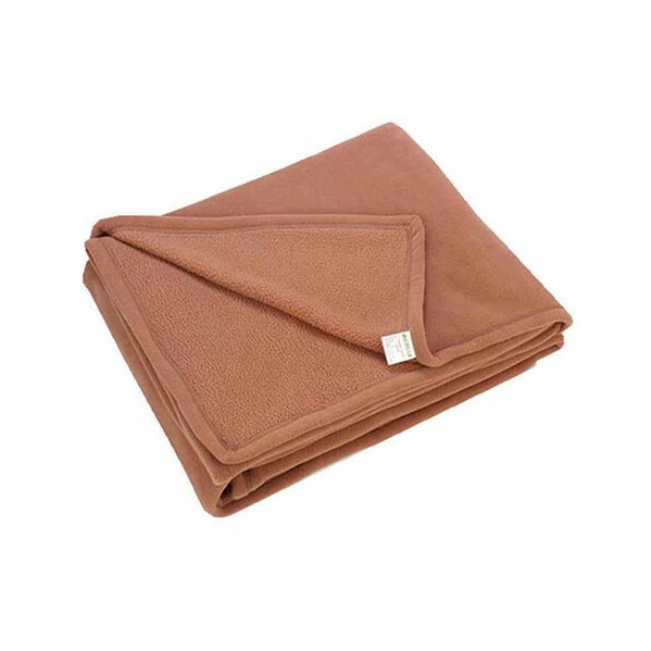 Simple Thick Polyester Fleece Blanket
