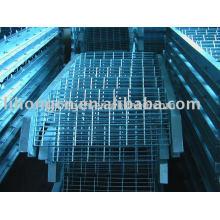 Piso de grade, passo de escada, escada de grade, escada de grade