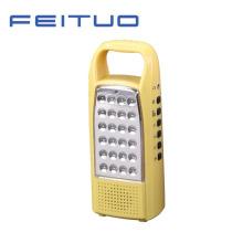 Lampe LED Portable, lanterne Rechargeable, lumière, Radio FM 620-Y à la main