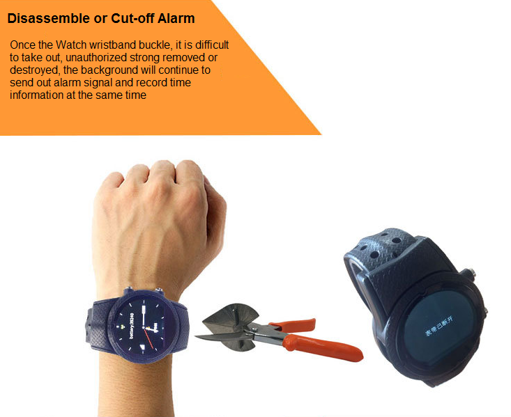 GPS anti-dismantle Watch