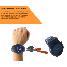 Prisoner Use GPS Watch for Convicted Individuals