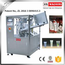 Enchimento líquido do tubo da máquina de embalagem do distribuidor do mel dos produtos químicos do alcance e máquina da selagem