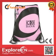 Promotional custom advertising drawstring bag