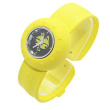 Kids Cartoon Silicone Bracelet Slap Watch