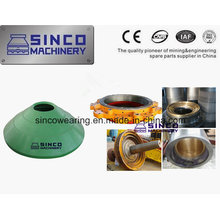 Cone Crusher Spare Parts Good Quality Concave and Mantle