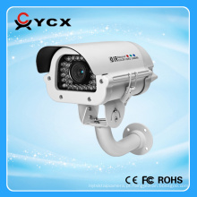 Lente Varifocal 6-22mm placa de veículo branco luz câmera CCTV à prova d'água construir no ventilador e aquecedor OEM ODM
