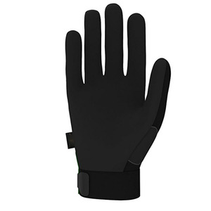 New Black Non slip knitted gloves