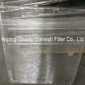 Stainless Steel Wire Mesh Sterilizing Tray