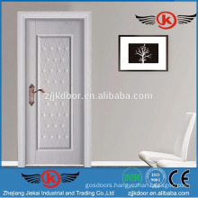 JK-SW9661D white modern safety steel wood doors design