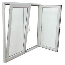 Fenêtre inclinable à double vitrage profilé en aluminium