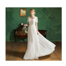 New Products Traditional Style Brand Design Moroccan Wedding Dress Shenzhen Factory