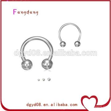 Fabricante de anillos nasales perforantes de acero inoxidable