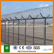 Barb Wire Alambre de alambre Prison Fence